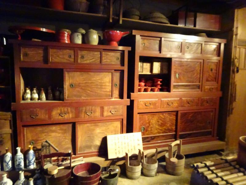 昔のキッチンだそう