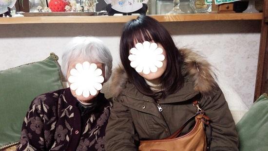 おばあちゃんと私