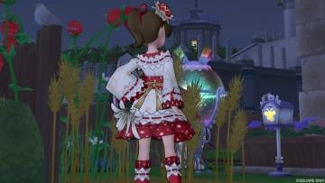 キャロル姫浴衣2