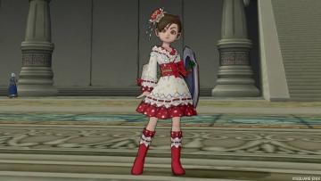 キャロル姫浴衣1