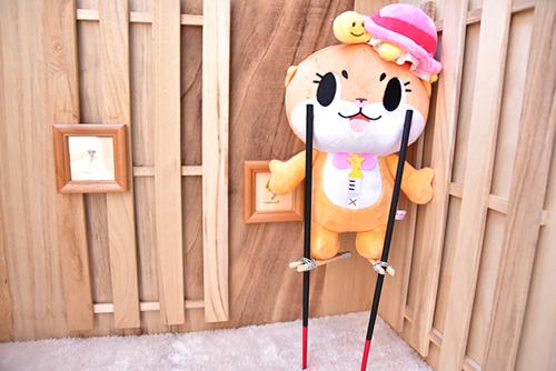 ツバキアキラが撮った、コツメカワウソの妖精・ちぃたん☆のぬいぐるみの写真