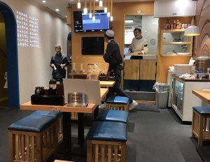 蘭州ラーメン_薩斐(サフィ) 蘭州牛麺店・店内の風景