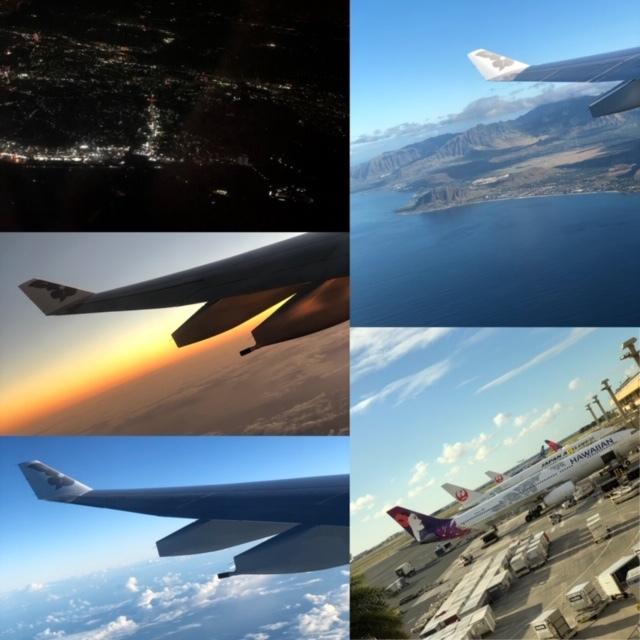 ハワイ飛行機