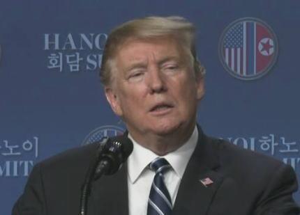 米朝首脳会談、北朝鮮の非核化での合意に到らず 韓国総合株価指数が急落 … トランプ「寧辺の核施設解体を表明し、その前に制裁の解除を求めてきたが応じられなかった」