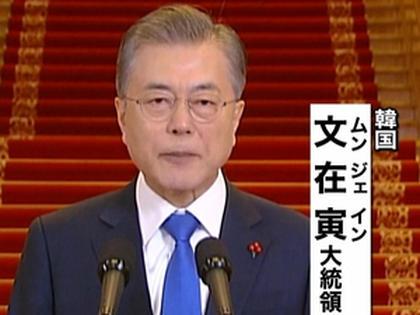 韓国大統領府の報道官、引き続き「米朝の仲介役」を果たす考え … 米朝首脳会談については「長時間深みのある議論を行った事で、相手に対する理解の幅と深さを広げた」と評価