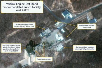 北朝鮮のミサイル製造施設で車両などの動きが活発化、ミサイル発射準備か … 米専門家「北朝鮮が近くミサイルまたはロケットを発射するための準備を進めている可能性がある」