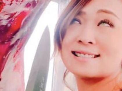 福井県高浜町議会の児玉千明議員(30)、吊された獣肉の横で包丁をかざし白目を剥いた写真をSNSにアップ(画像)→ 炎上→ 「鳥獣処理の悪いイメージを払拭する目的だった」と謝罪