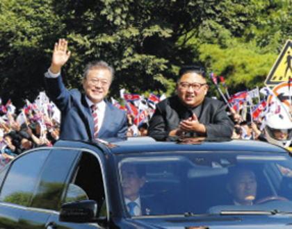 国連安保理、「制裁違反の事例」としてベンツのリムジンに文在寅と金正恩が同乗した写真を掲載 … 写真掲載を避けたかった韓国政府、国連でロビー活動するも失敗、韓国外交官「国として非常に恥ずかしい」