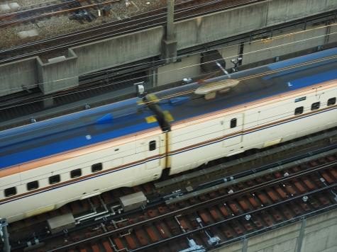 北陸新幹線 E7・W7系 回送【金沢駅付近】