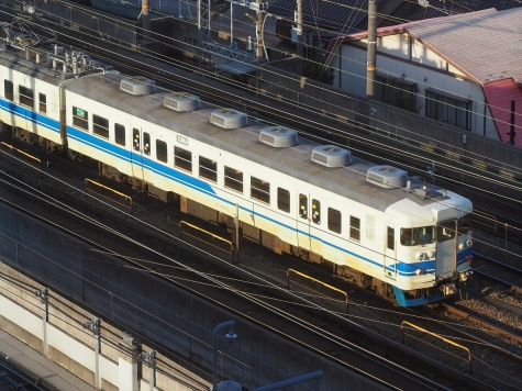 JR北陸本線 415系 電車【金沢駅付近】