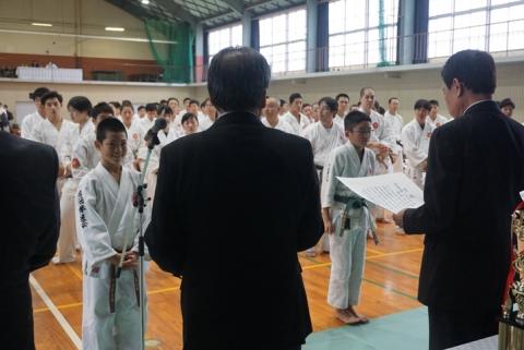 2018日本拳法岡山県大会三位決定戦(小学6年生) by 今治拳友会