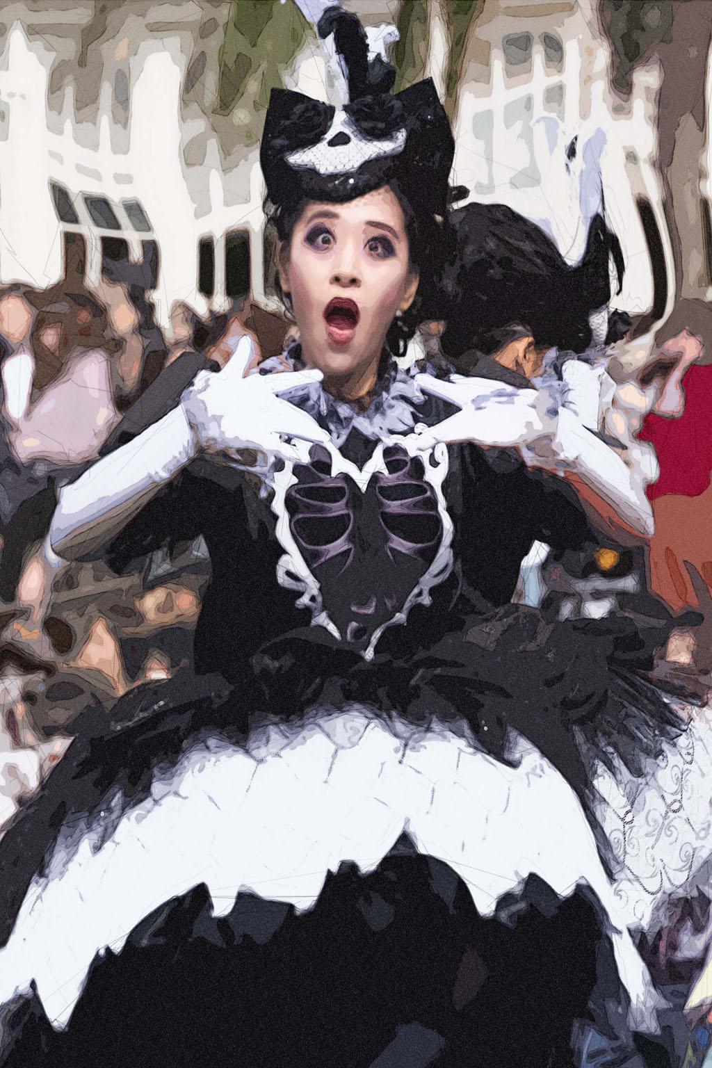"""演技賞ダンサーさん(スプーキー""""Boo!""""パレード)"""