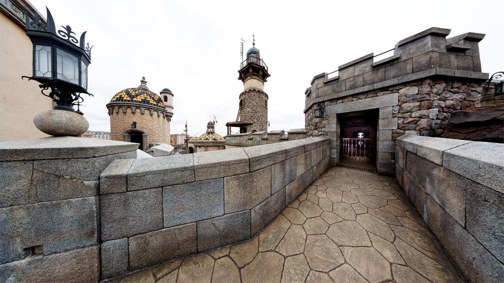 ペンデュラムタワー上部北側入口方面(フォートレス・エクスプロレーション)