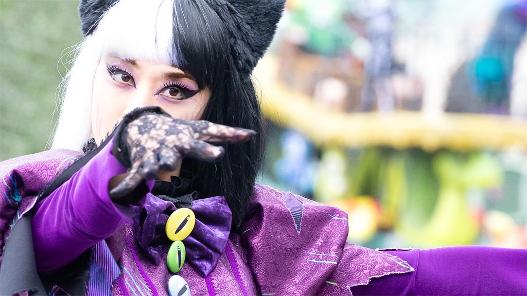 """猫ダンサーさん(スプーキー""""Boo!""""パレード)"""