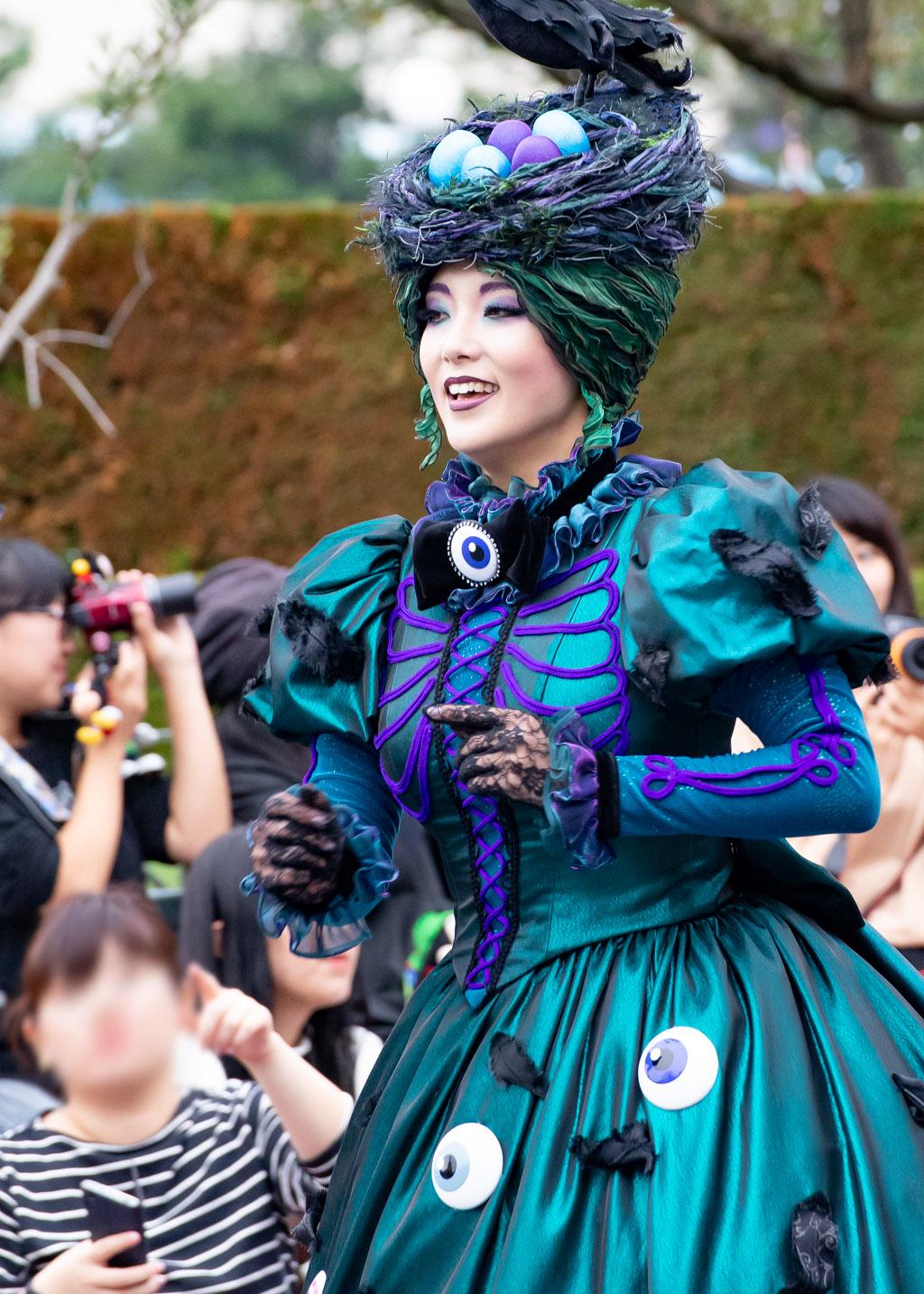 """緑のダンサー(スプーキー""""Boo!""""パレード)"""