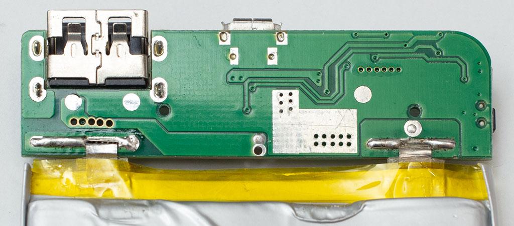 ダイソー500円3000mAhモバイルバッテリーの放電容量