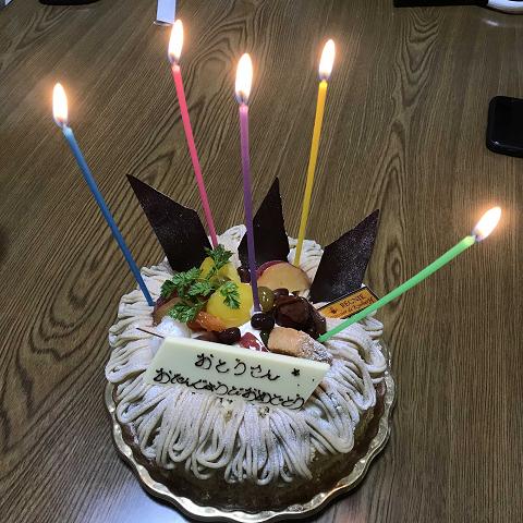 1454-誕生日のケーキ