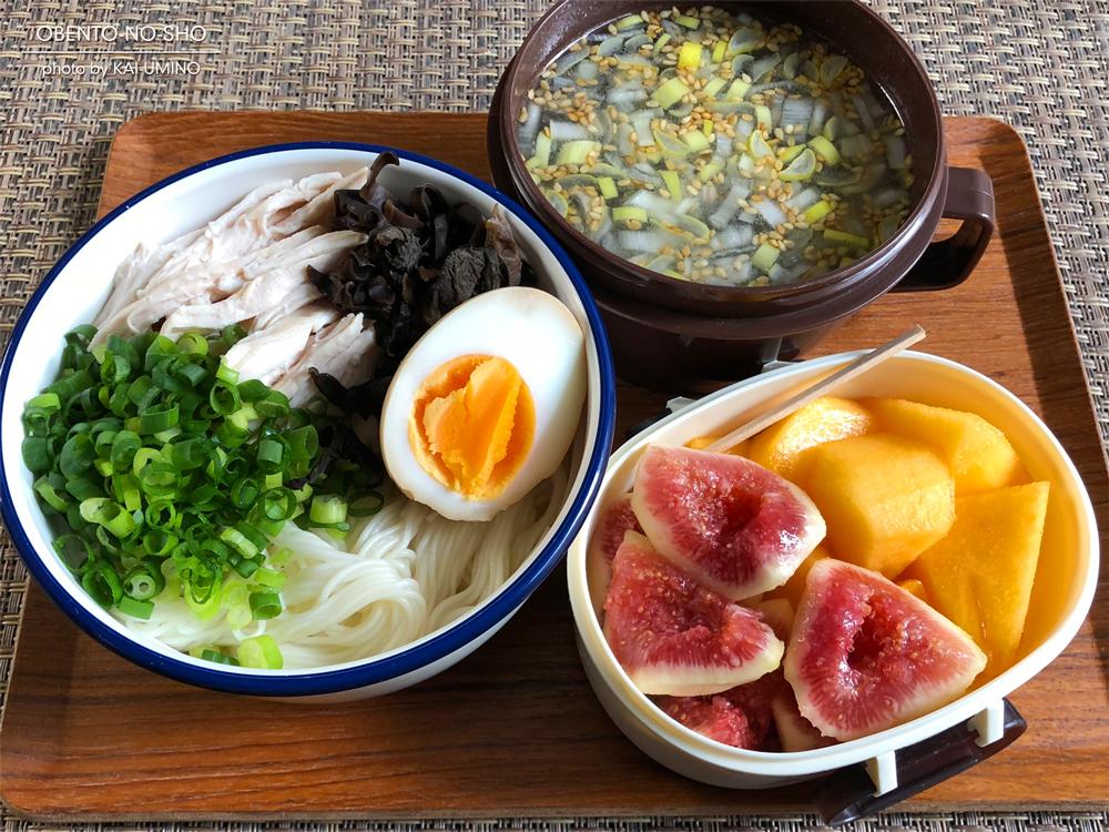 中華風鶏ニュウ麺弁当