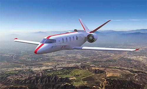 ハイブリッド航空機