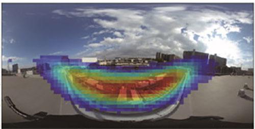 音源方向の可視化システムの開発