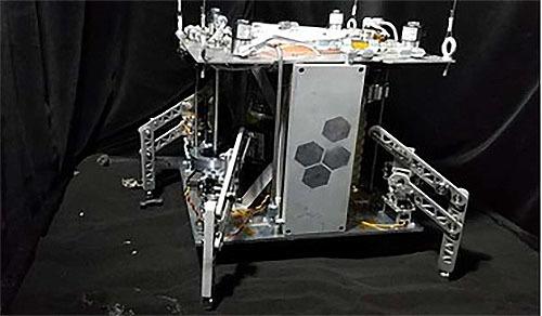 蒸気で動く宇宙探査機の開発