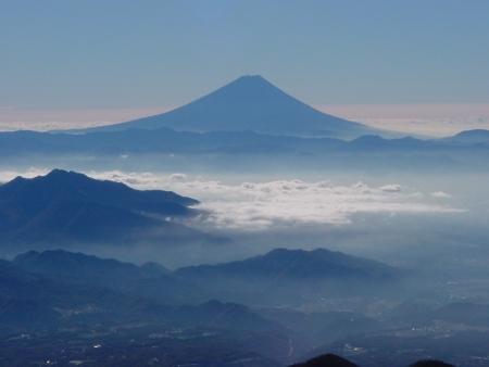 富士、横岳付近2