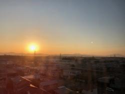 真岡市の朝