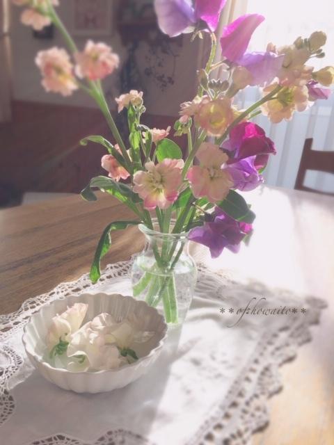 2019.2.6リビングのお花①