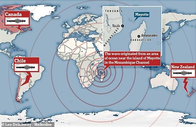 【原因不明】11月11日に「謎の地震」が世界中を駆け巡っていた…アフリカ東沖で発生し20分以上も続き、ハワイにまで到達していたが誰も気づかず