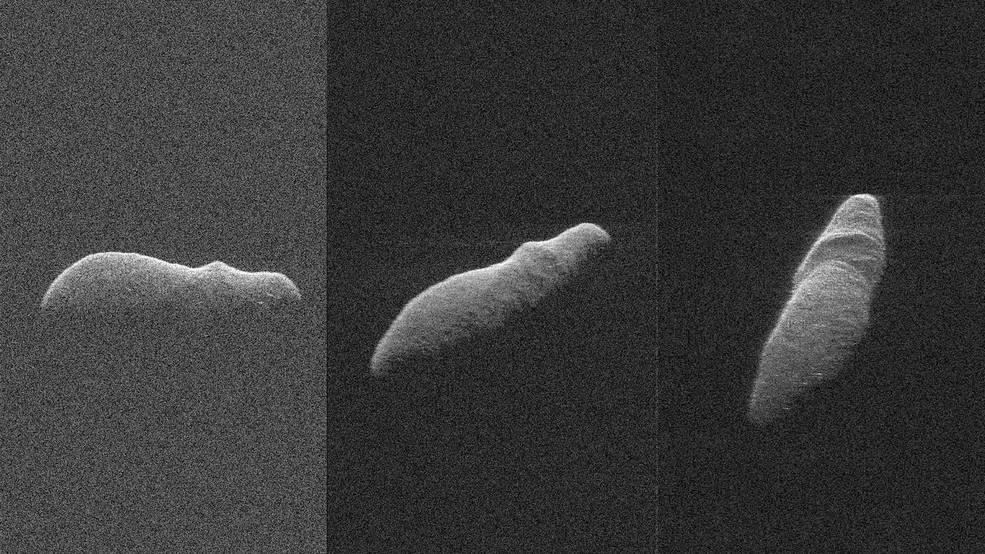 【NASA】カバに似た形をした「小惑星」が地球に接近していた模様