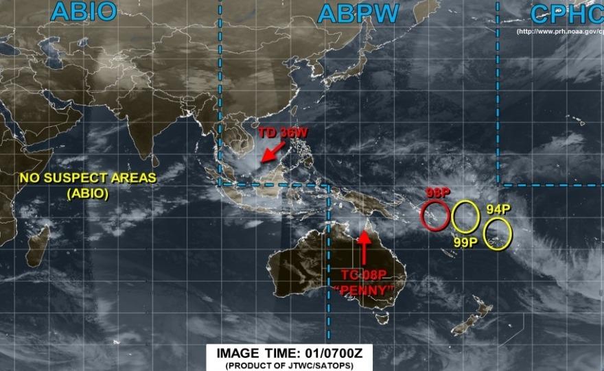 【パブーク】早くも台風1号が発生…1951年以来、最も早い発生
