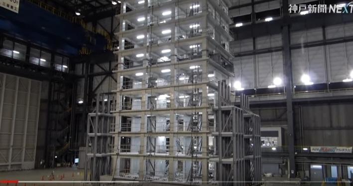 【耐震性能】10階建ての鉄筋コンクリート建物を揺らしてみた結果