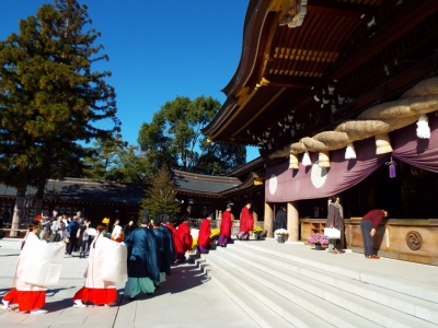 寒川神社 新嘗祭 4