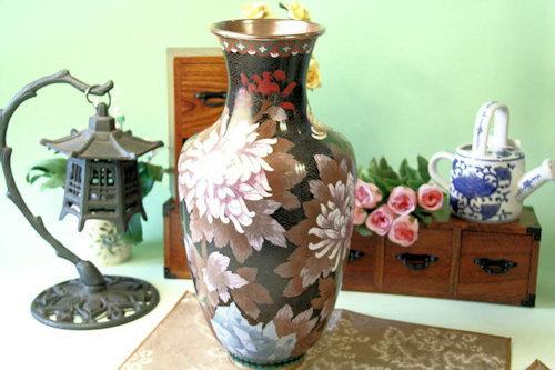 七宝焼の花瓶