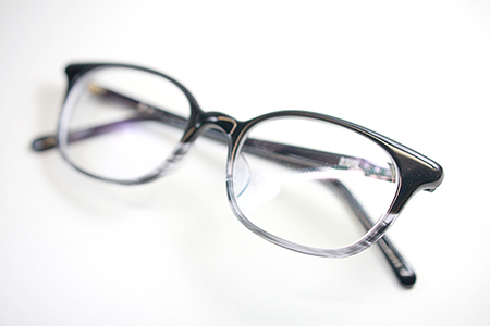 めがね レンズ入替え セルフレーム メタルフレーム DJUAL デュアル セルロイド 職人 新潟県 眼鏡店 長岡 三条 見附