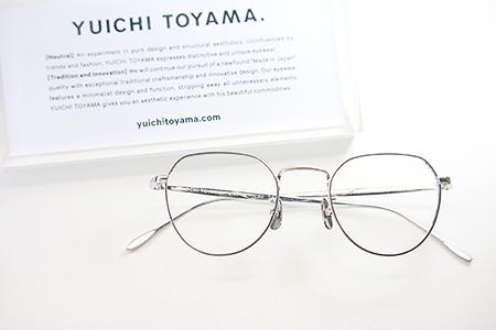 YUICHI TOYAMA ユウイチトヤマ 2018 2019 ニューモデル 新潟県 取扱い 見附市 めがね店 サングラス メガネ