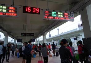 台東駅ホーム