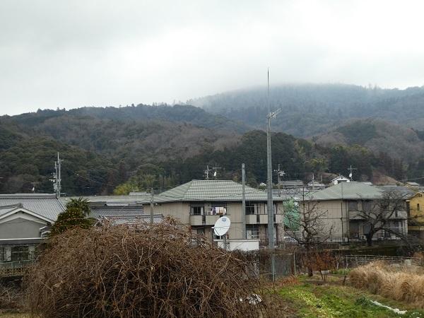 大和朝倉駅から三輪山