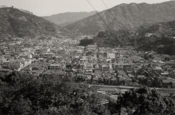 1967年8月21日 お四国山からの眺め