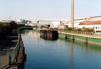 1997年12月25日 百島運河風景