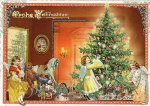クリスマスカード2  ドイツ