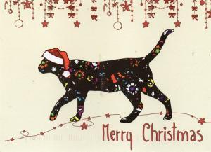 クリスマスカード2  アメリカ