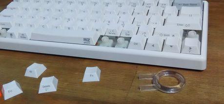 ATOM66のキーキャップ交換