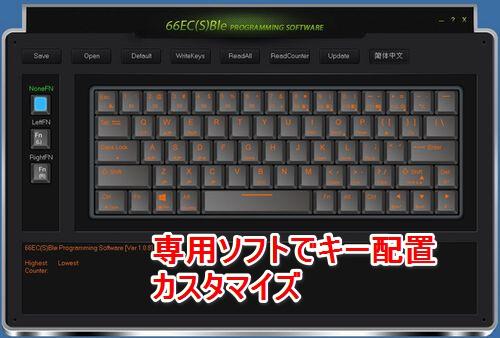 ATOM66 専用ソフトウェア