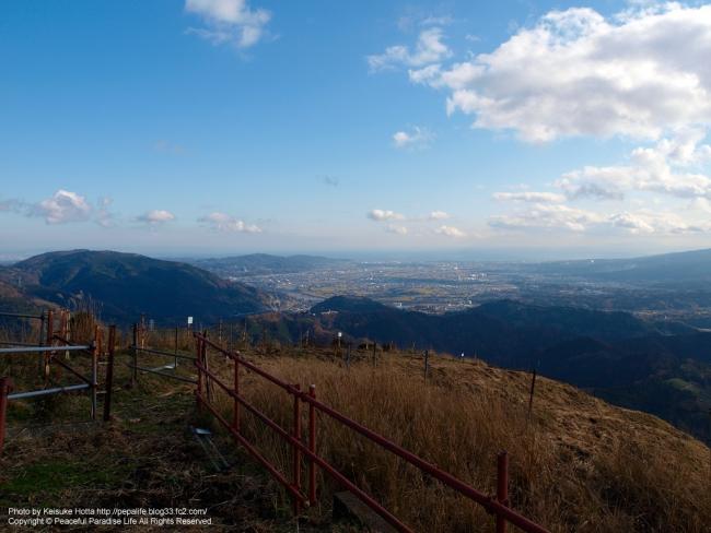 大野山からの眺め