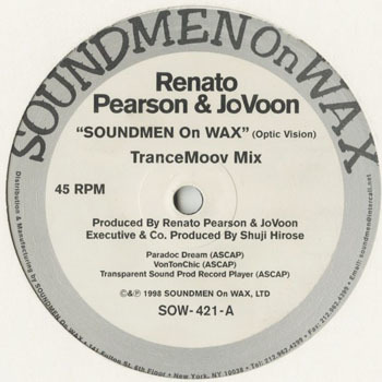 DG_RENATO PEARSON and OVOON_SOUND ON WAX_20190205