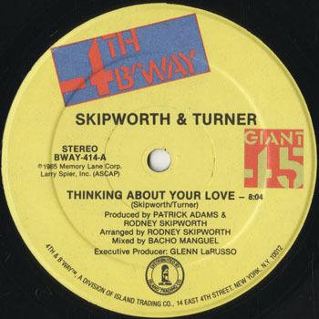 DG_SKIPWORTH and TURNER_THINKING ABOUT YOU LOVE_20190217