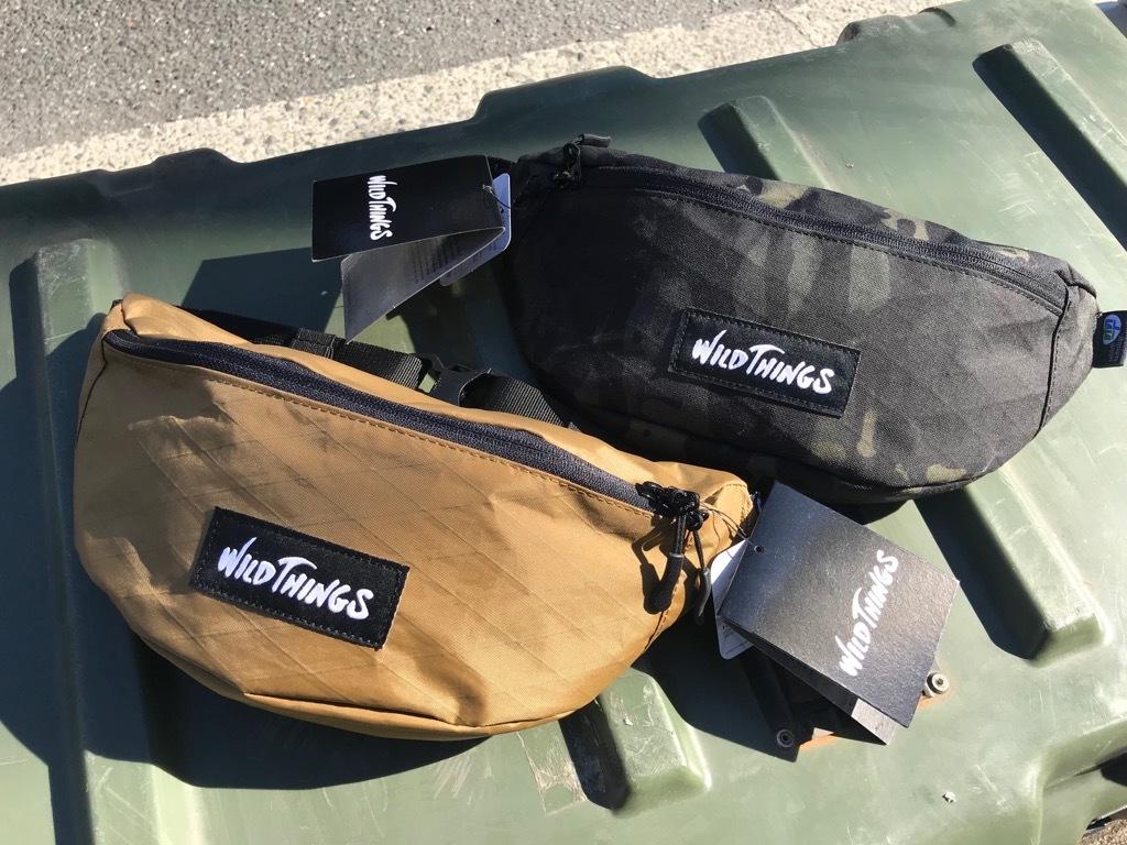 WILD THINGSのウェストバッグ。【横田店】