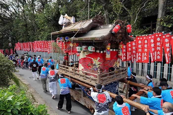 鹿畑 素戔嗚神社 秋祭り1