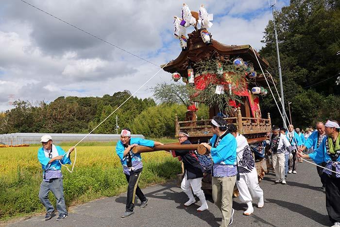 鹿畑 素戔嗚神社 秋祭り2